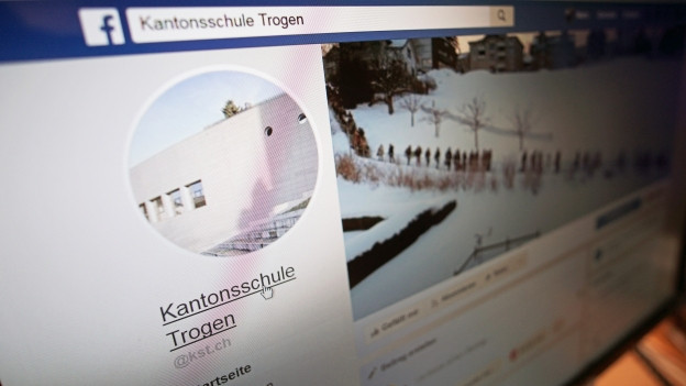 Facebookprofil der Kantonsschule Trogen.