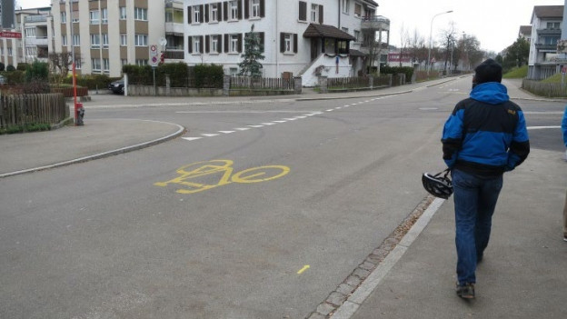 Stadt St. Gallen will Velostrassen einführen.
