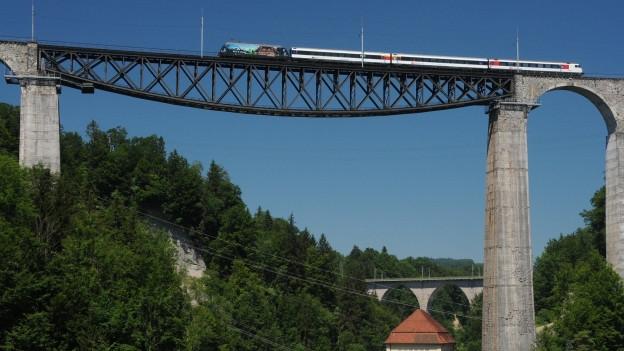 Das Viadukt muss saniert werden.