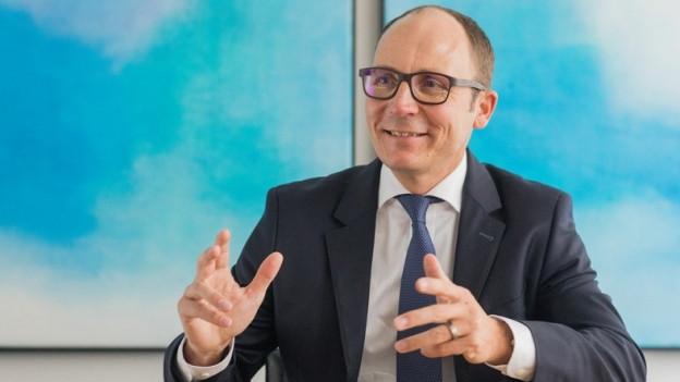Der neue Chef der Thurgauer Kantonalbank Thomas Koller.