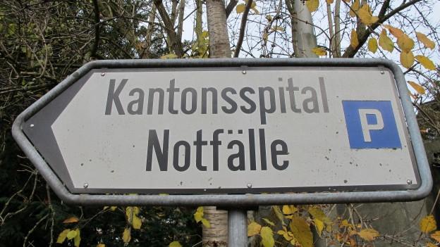Im Kanton St. Gallen wird über Spitalschliessungen diskutiert.