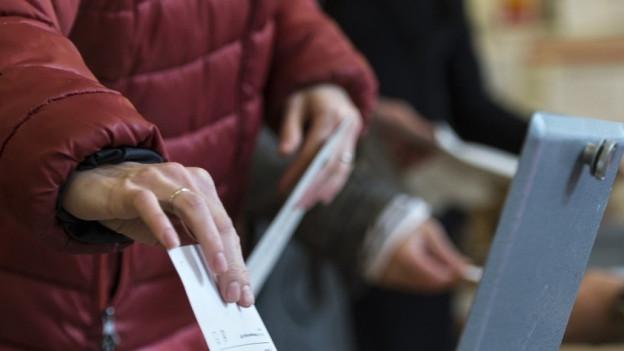 Für die St. Galler Ständerats-Ersatzwahl zeichnet sich eine gute Wahlbeteiligung ab.