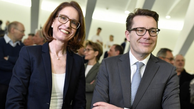 Susanne Vincenz-Stauffacher und Beni Würth