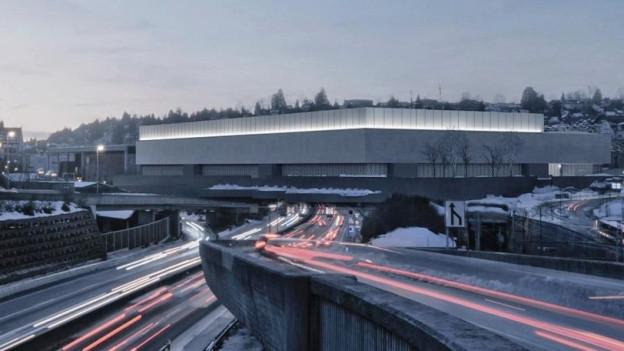 Die Olma Messen St. Gallen präsentieren Siegerprojekt für neue Halle.