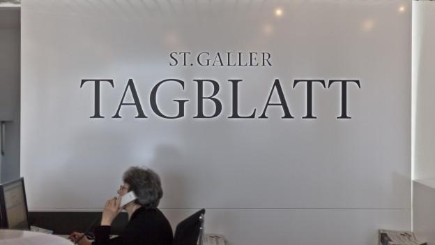 Das St. Galler Tagblatt im Umbruch