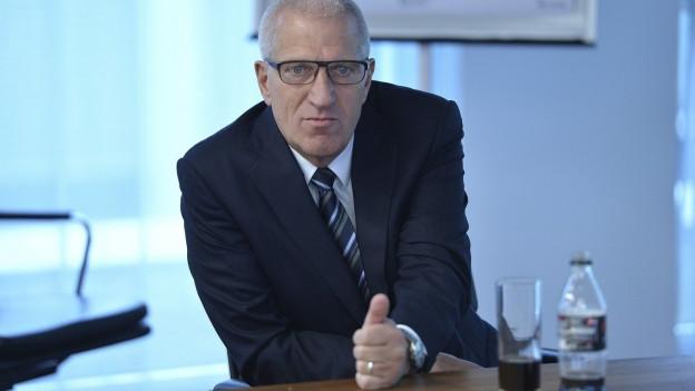 Pierin Vincenz war von 1999 bis 2015 Chef von Raiffeisen Schweiz.