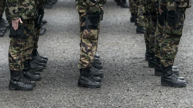 Unteroffiziere der Armee sollen weiterhin in Herisau ausgebildet werden.