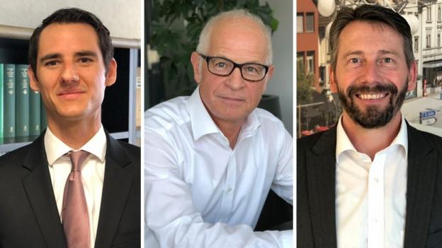 Drei Kandidaten für das Amt des Innerrhoder Landammannes
