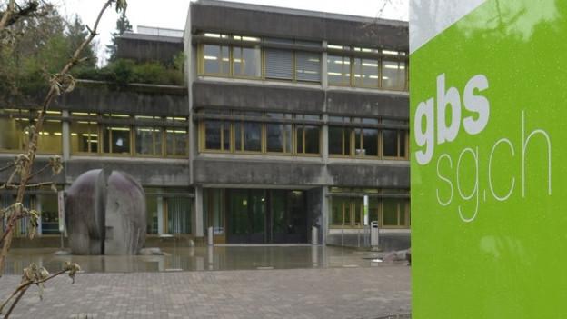Die Gewerbe- und Berufsschule an der Demutstrasse St. Gallen ist 40 Jahre alt