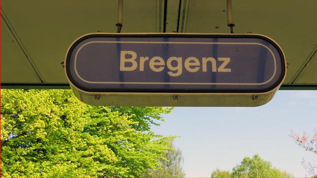 Schild Bregenz