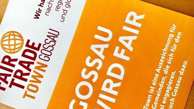 «Fair Trade Town» Gossau