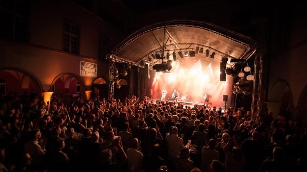 Dass ein US-Grosskonzern indirekt vom Kulturfestival St. Gallen profitiert, hat auf die finanzielle Unterstützung keine Auswirkungen.