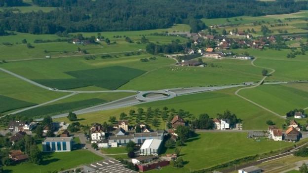 Felder im Thurgau wo die BTS einst hin sol