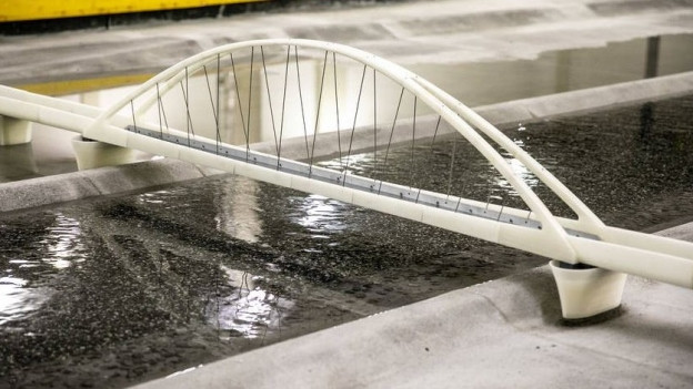 Brücke im Modell
