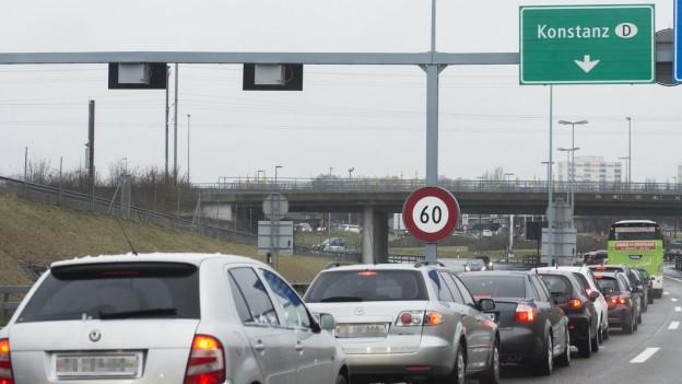 Autobahnzoll in Kreuzlingen soll ausgebaut werden