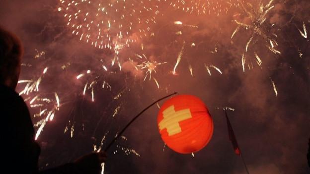Feuerwerk in Wil trotz Klimanotstand