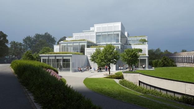 Der Bau kostet zwischen 40 und 50 Millionen Franken.