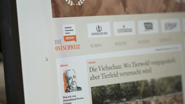 Neue Sonntagszeitung für die Ostschweiz