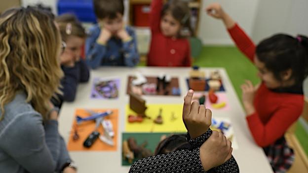 Deutschkurse für fremdsprachige Kinder