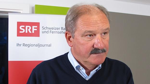 VR-Präsident Felix Sennhauser, St. Galler Spitalverbund