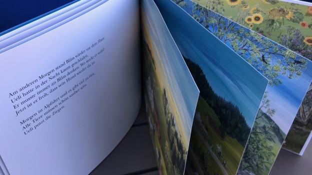 Lilly Langenegger will die Kinder mit den Bilderbüchern das Sehen lernen