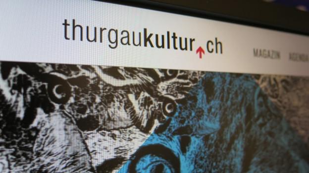 Hoepage von Thurgaukultur.ch