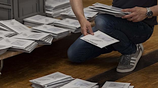 Unvollständige Wahlunterlagen