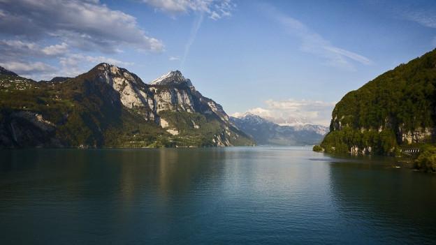 Aus dem Bodensee wird seit den 1930-er Jahren Wärmeenergie genutzt.
