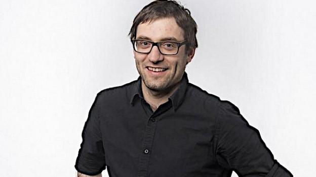 Der erste Chefredaktor der neuen Fundaziun Medias Rumantschas, David Truttmann