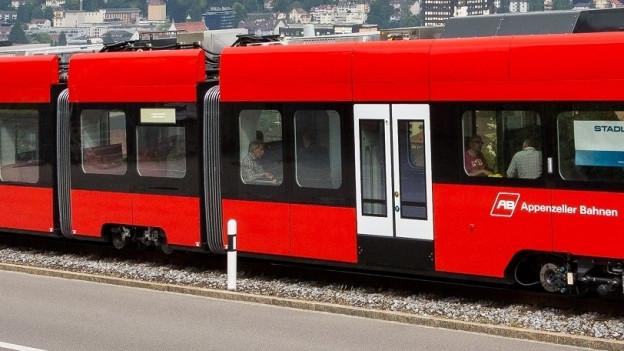 Wagen der Appenzeller Bahnen