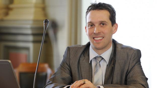 Michael Götte soll für SVP zweiten Sitz erobern