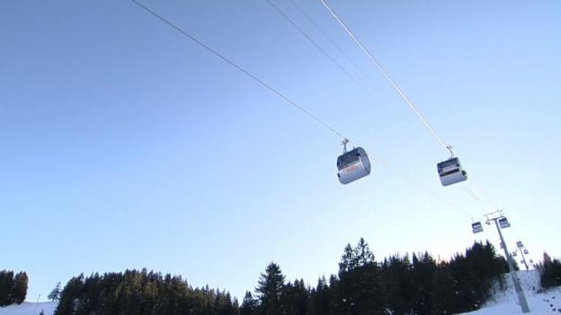 Die Bergbahnen verdreifachen die Kapazität mit der neuen Gondelbahn.