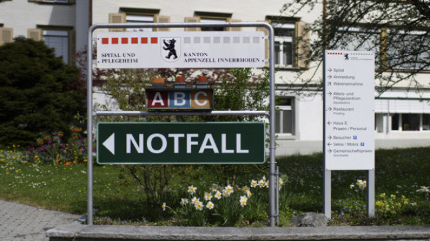 Gemeinsame Spitalliste fordert Kanton Appenzell Innerrhoden