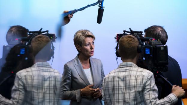 Ein bewegtes Jahr für Bundesrätin Karin Keller-Sutter