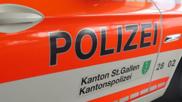 Auto der Kantonspolizei