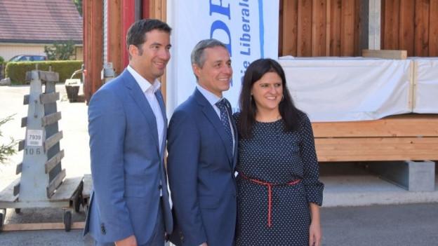 Die FDP AR nominiert Andrea Caroni als Ständeratskandidat und Jennifer Abderhalden als Nationalratskandidatin.