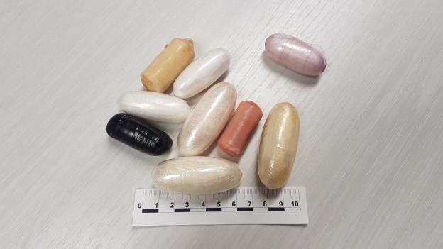 Pakete mit Kokain