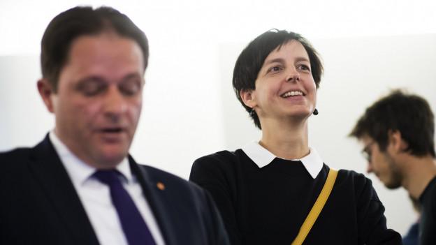 Susanne Hartmann ist neue St. Galler Regierungsrätin