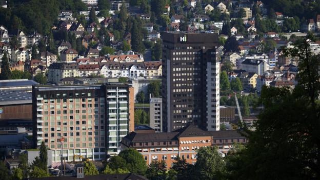 Das Kantonsspital erwartet vom 18. März bis Mitte April die meisten Coronapatienten