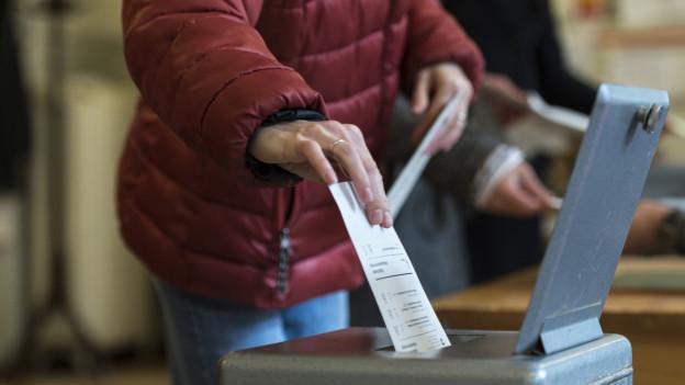 Rund ein Drittel wird am Wochenende wählen