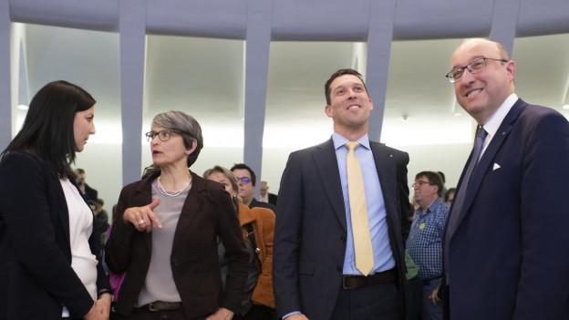 Die CVP empfiehlt Beat Tinner von der FDP zu wählen