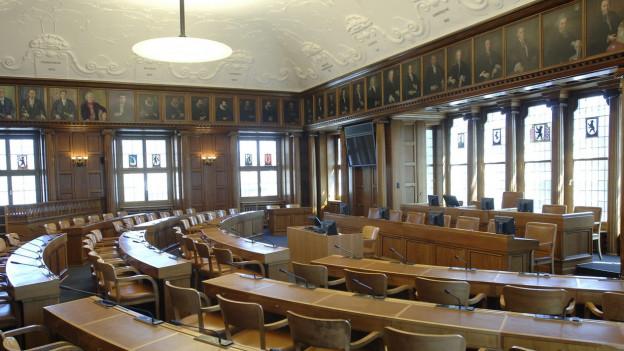 Eigentlich hätte die Jugendsession im Kantonsratssaal in Herisau stattfinden sollen.