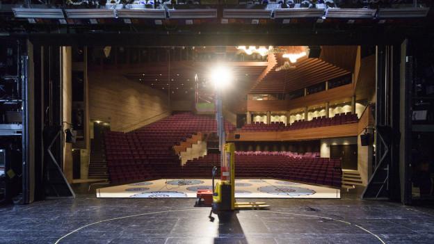 Abruptes Saisonende auch im Theater St. Gallen.