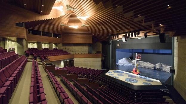 Blick ins Stadttheater St. Gallen.