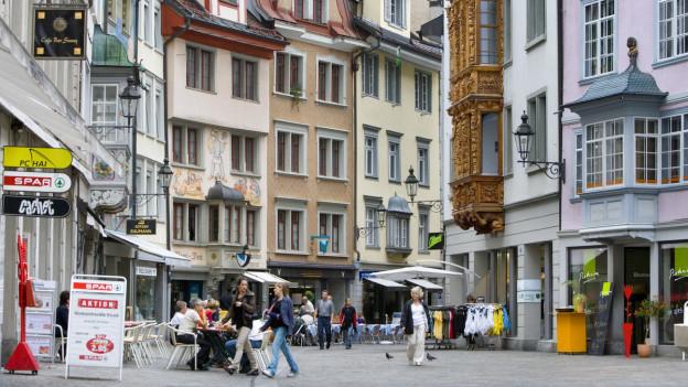 Längere Öffnungszeiten in der St. Galler Innenstadt