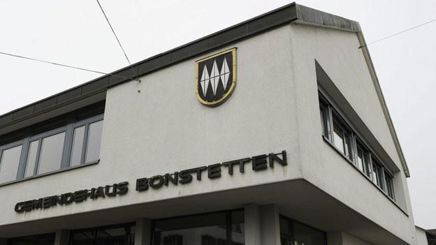 Die Gemeindeverwaltung von Bonstetten