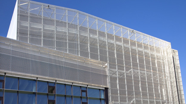 Das neue Hochsicherheitsgebäude der Stadt Zürich.