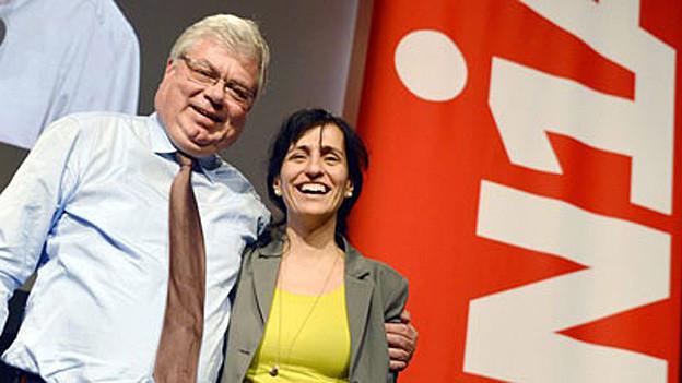 Bereit zu kämpfen: Vania Alleva, erste Frau im Unia-Präsidium.