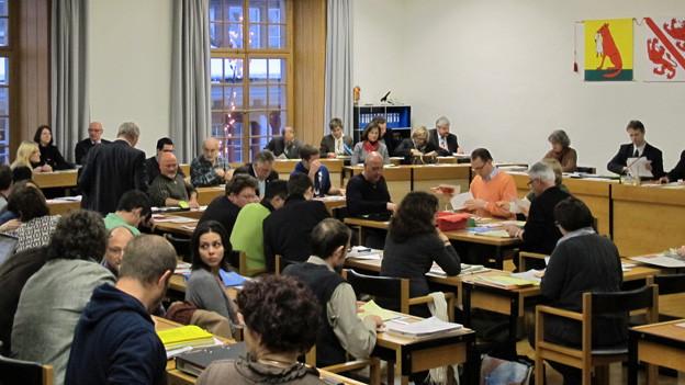 Das Winterthurer Parlament beschliesst im 2. Anlauf ein Budget für 2013.