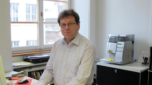 Verlässt den Stadtrat mit Wehmut, freut sich aber auf die Zukunft: Peter Käppler.